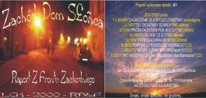 2000 - ZDS - Raport Z Frontu Zachodniego (cover)