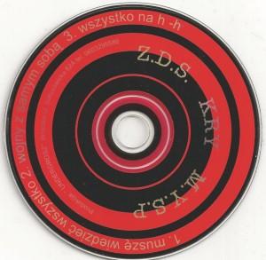 2001 - ZDS - Wojny Z Samym Sobą (CD Singiel)