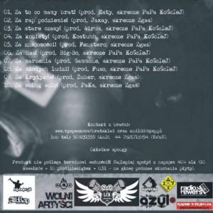 2008 - AnD i Ya'aN - Toasty Za (cover back)