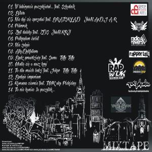 2013 - NTW+YA'AN - BEZ GRANIC Mixtape - Tył(Alien)