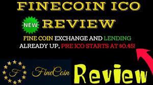 FineCoin - PreIco