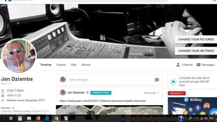 FutNet Profile Screen Shoot